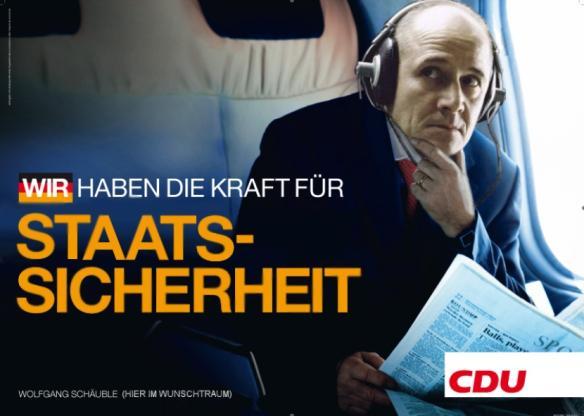 Wahlkampf, 2013, Wahlplakate, Nachrichtensendungen, Andreas Molau