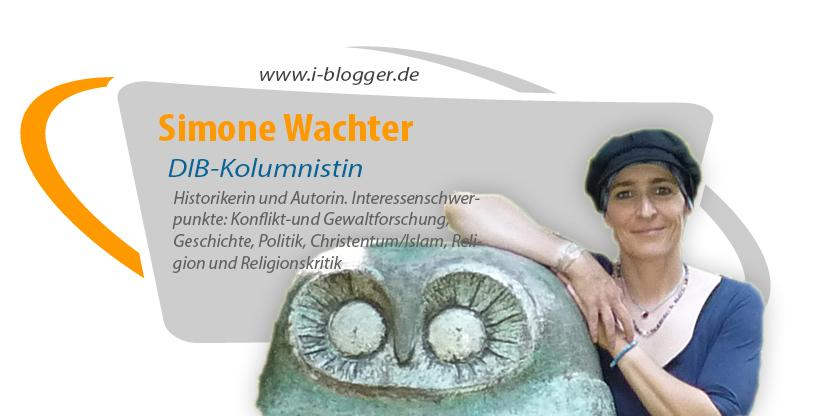 Simone Wachter, Historikerin, Autorin, Konfliktforschung, Gewaltforschung, Geschichte, Politik, Christentum, Islam, Religion, Religionskritik