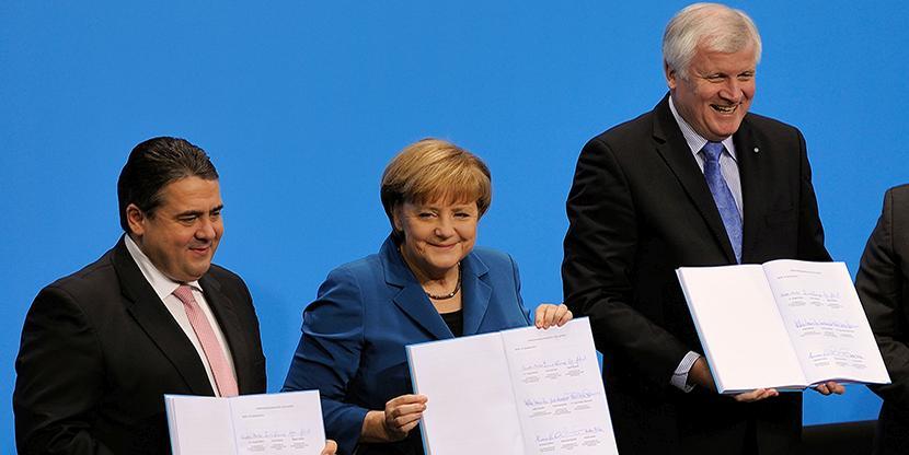 GroKo, Groko-Bashing, Angela Merkel, CDU, SPD, Schwarz-Rot, Armutsflüchtling, Großen Koalition, Opposition
