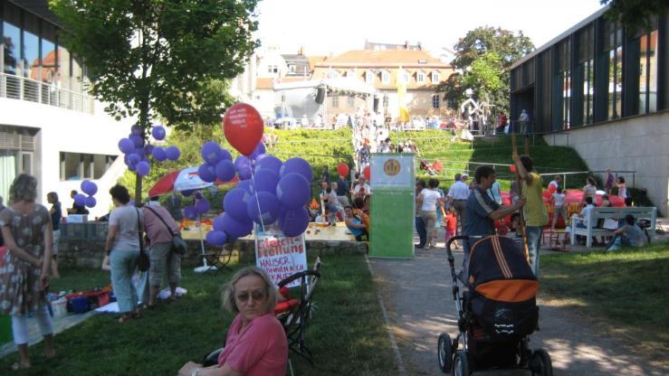 Delegationsverhalten, Oberbürgermeister, Willkommenskultur, Bürgerfest, Einwandererverein