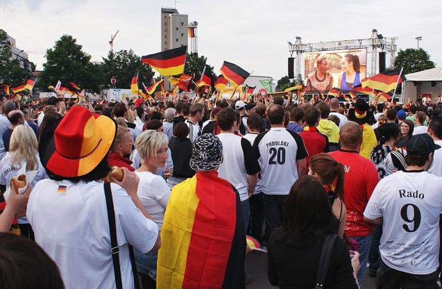 Nationalbewusstsein, WM, Weltmeisterschaft 2014, Fussball-WM, Deutschland