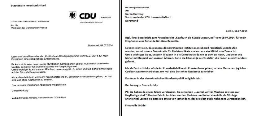 Rassismusfreie Zonen, Rassismus, Rechtsextremismus, Horitzky, CDU