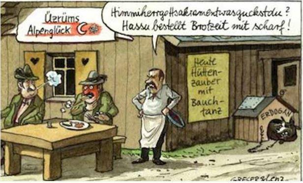 Karikaturenstreit, Schulbuch, Erdoğan, Sensibilität, Schmähung