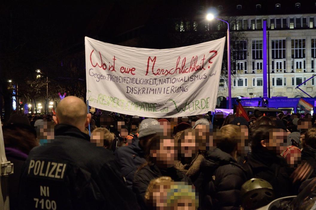 Pegida, Dresden, Abendland, Fremdenfeindlichkeit, Islamisierung