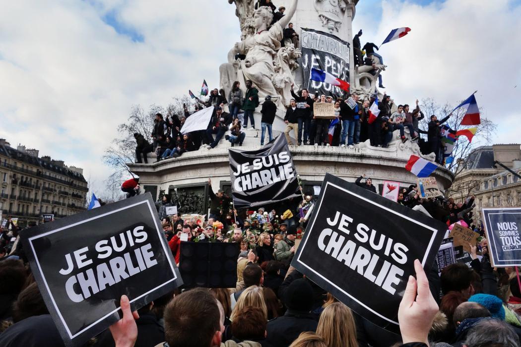 Je Suis Charlie, Charlie Hebdo, Terror, Paris, Frankreich
