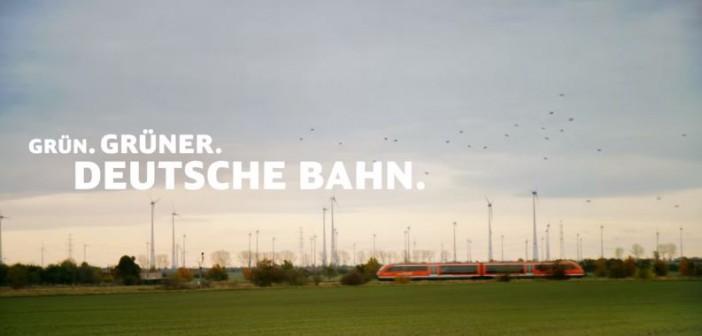 """Deutsche Bahn, Klimagipfel, """"Grün, Grüner, Deutsche Bahn"""", Klimawandel"""