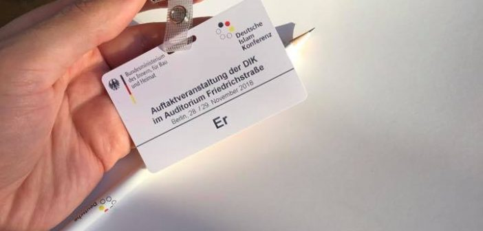 DIK – Eindrücke nach zwei Tagen DeutscheIslamkonferenz